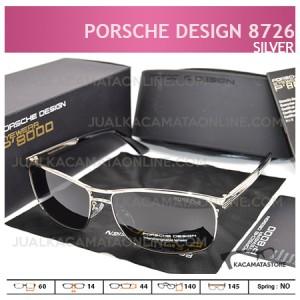 Model Kacamata Pria Terbaru Porsche Design P8726 Silver