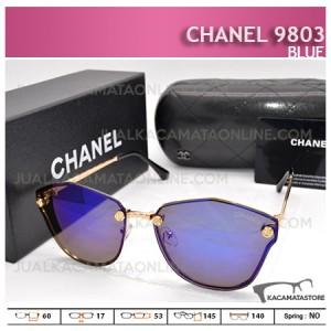 Kacamata Wanita Terbaru Chanel 9803 Blue - Harga dan Gambar Kacamata Wanita Terbaru Chanel