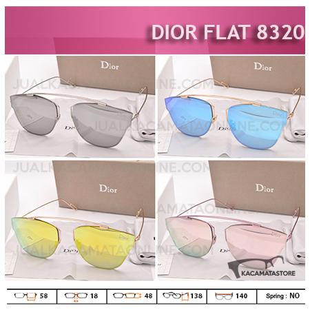 Model Kacamata Wanita Terbaru Dior 8320 Flat - Gambar Kacamata Wanita Terbaru, Harga Kacamata Wanita Terbaru
