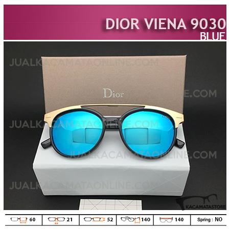 Kacamata Wanita Terbaru Dior Viena 9030 Blue - Harga dan Gambar Kacamata Wanita Terbaru