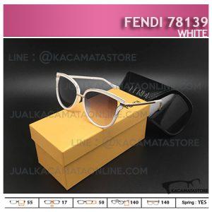 Kacamata Wanita Terbaru Fendi 78139 White