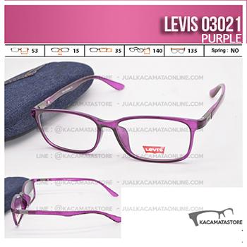 Jual Frame Kacamata Levis 03021 Purple