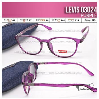 Jual Frame Kacamata Levis 03024 Purple