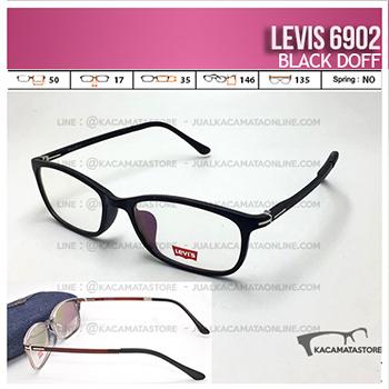Harga Frame Kacamata Levis 6902 Black Doff