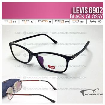 Harga Frame Kacamata Levis 6902 Black Glossy
