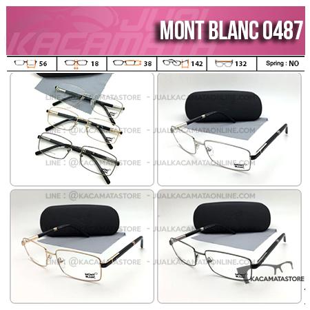 Jual Frame Kacamata Murah MontBlanc 0487