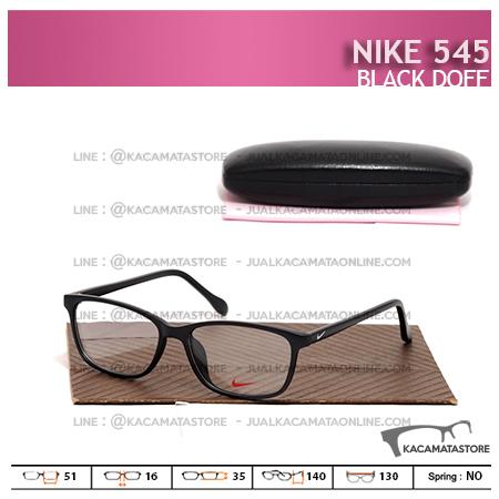 Frame Kacamata Murah Nike 545 Black Doff