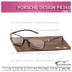 Jual Frame Kacamata Murah Porsche Design P8360 Grey