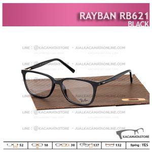 Frame Kacamata Murah Rayban Rb621 Black