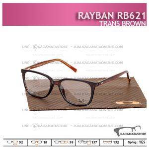 Jual Frame Kacamata Murah Rayban Rb621 Trans Brown