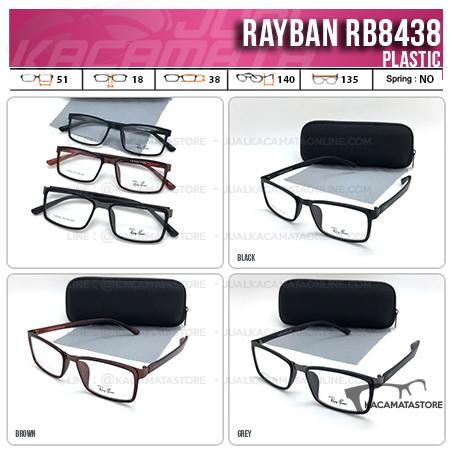 Jual Frame Kacamata Murah Rayban RB8348 - Model Kacamata terbaru