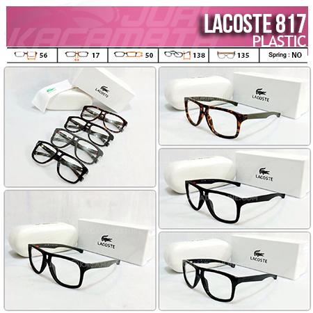 Jual Kacamata Minus Lacoste 817 Frame Kacamata Terbaru