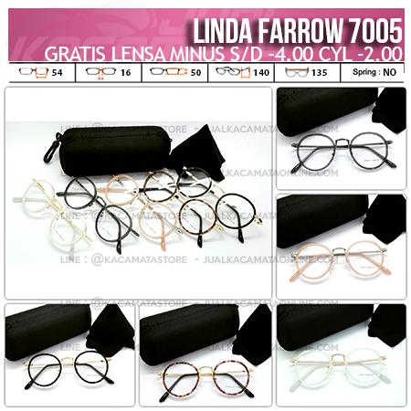 Jual Kacamata Murah Linda Farrow 7005 Gratis Lensa