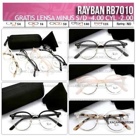 Jual Kacamata Murah Rayban Rb7010 Gratis Lensa