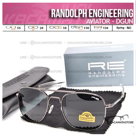 Model Kacamata Pilot Randolph Engineering Aviator Dgun
