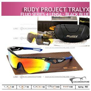 Kacamata Sepeda Rudy Project Tralyx Black Blue - Trend Model Kacamata Sepeda Terbaru