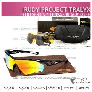 Kacamata Sepeda Rudy Project Tralyx Black Doff - Trend Model Kacamata Sepeda Terbaru