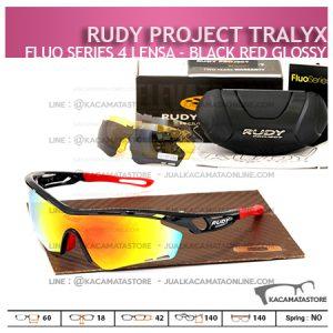 Kacamata Sepeda Rudy Project Tralyx Black Red Glossy - Trend Model Kacamata Sepeda Terbaru