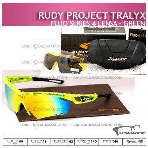 Kacamata Sepeda Rudy Project Tralyx Green - Trend Model Kacamata Sepeda Terbaru