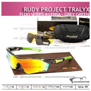 Kacamata Sepeda Rudy Project Tralyx Grey Green - Trend Model Kacamata Sepeda Terbaru