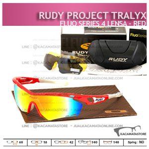 Kacamata Sepeda Rudy Project Tralyx Red - Trend Model Kacamata Sepeda Terbaru