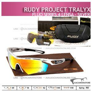Kacamata Sepeda Rudy Project Tralyx Silver - Trend Model Kacamata Sepeda Terbaru