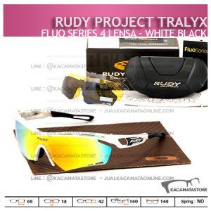 Jual Kacamata Sepeda Rudy Project Tralyx White Black - Trend Model Kacamata Sepeda Terbaru