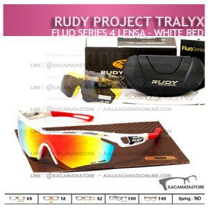 Kacamata Sepeda Rudy Project Tralyx White Red - Trend Model Kacamata Sepeda Terbaru
