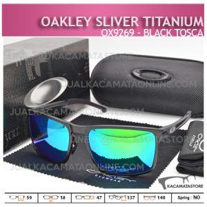 Gambar Kacamata Oakley Terbaru Sliver Titanium Tosca