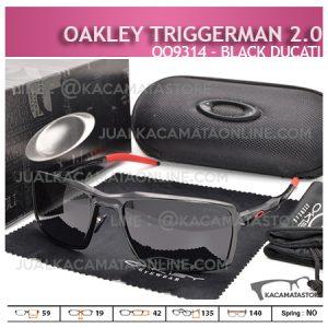 Trend Kacamata Oakley Terbaru Triggerman 2.0 Black Ducati