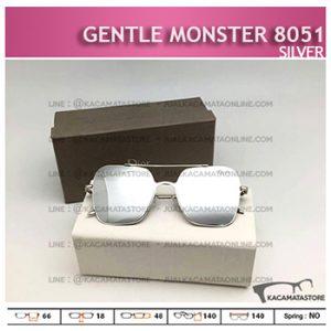 Model Kacamata Terbaru Gentle Monster 8051 Silver