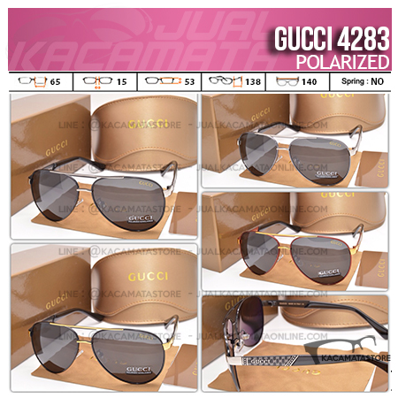 Trend Kacamata Terbaru Gucci 4283 Polarized