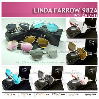 Trend Kacamata Wanita Terbaru Linda Farrow 982A