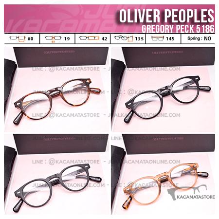 Jual Frame Kacamata Terbaru Oliver Peoples Gregory Peck 5186 Premium