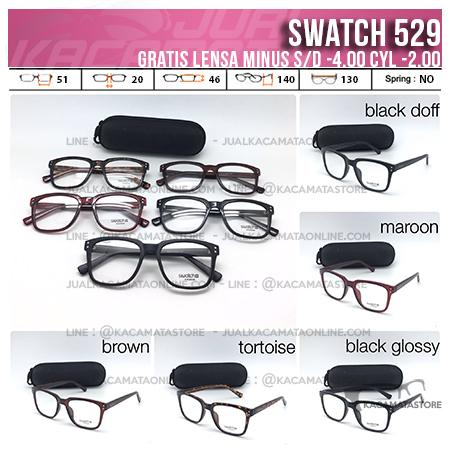 Jual Kacamata Gratis Lensa Swatch 529
