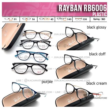 Jual Kacamata Minus Terbaru Rayban RB6006
