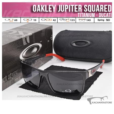 Trend Kacamata Oakley Terbaru Jupiter Squared Titanium Ducati