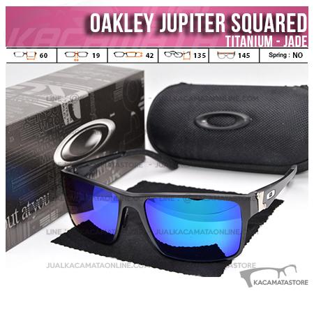 Model Kacamata Oakley Terbaru Jupiter Squared Titanium Jade