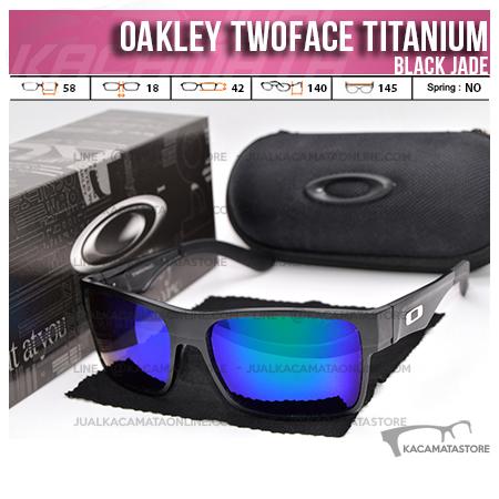 Model Kacamata Oakley Terbaru Twoface Titanium Black Jade