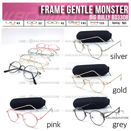 Jual Model Frame Kacamata Terbaru Gentle Monster Big Bully