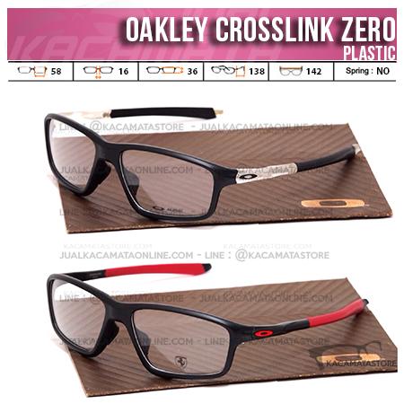 Model Frame Kacamata Terbaru Oakley Crosslink Zero