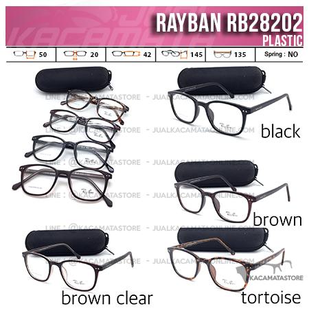 Jual Model Frame Kacamata Terbaru Rayban RB28202