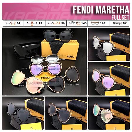Model Kacamata Cewek Terbaru Fendi Maretha