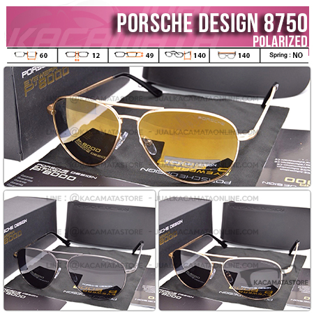 Model Kacamata Terbaru Porsche Design 8750 Polarized
