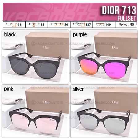 Trend Kacamata Cewek Terbaru Dior 713 - Kacamata Cewek Berhijab