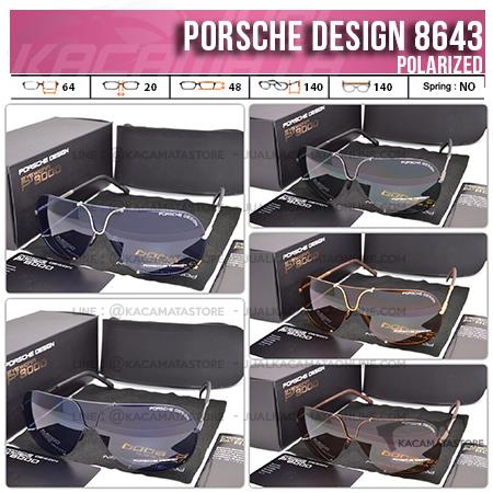 Trend Kacamata Terbaru Porsche Design 8643 Polarized