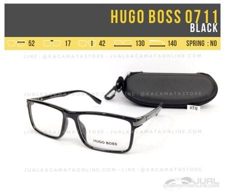 Model Frame Kacamata Terbaru Hugo Boss 0711 Black