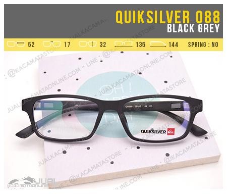 Trend Kacamata Baca Quiksilver 088 Black Grey