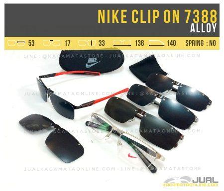 Jual Kacamata Clip On Nike 7388 Terbaru