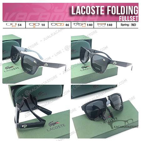 Jual Kacamata Folding Lacoste Terbaru